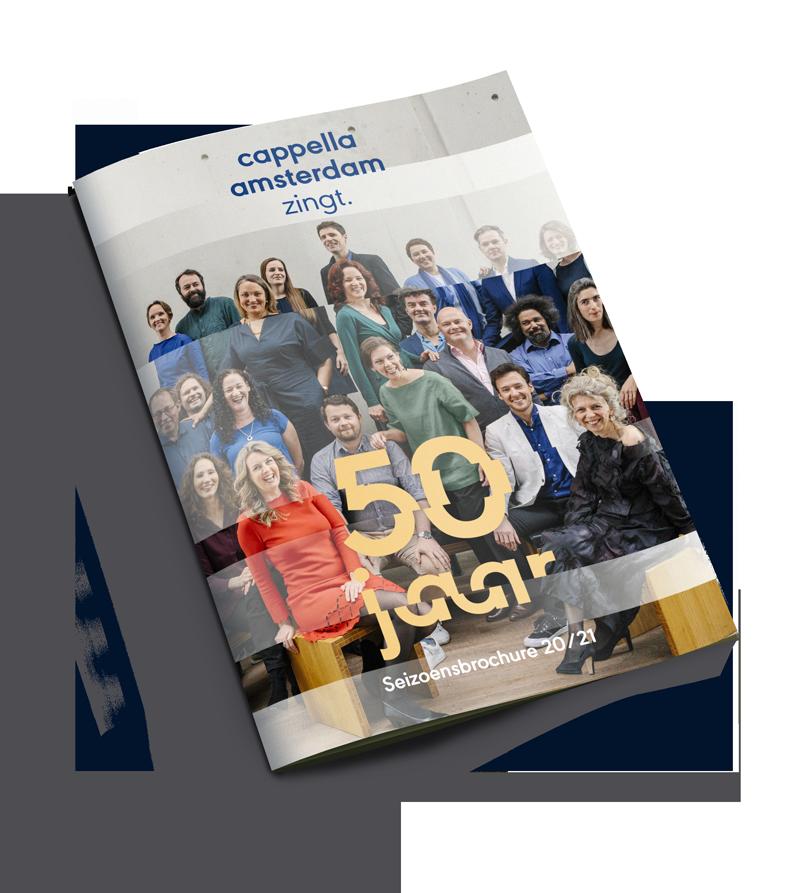 Cappella Amsterdam brochure